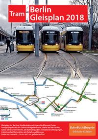 Berliner Straßenbahn-Netzplan 2018
