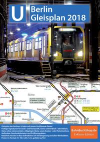 Berliner U-Bahn-Netzplan 2018
